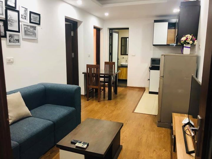 2 bed room apartment for rent with many windows in To Ngoc Van street, Tay Ho District