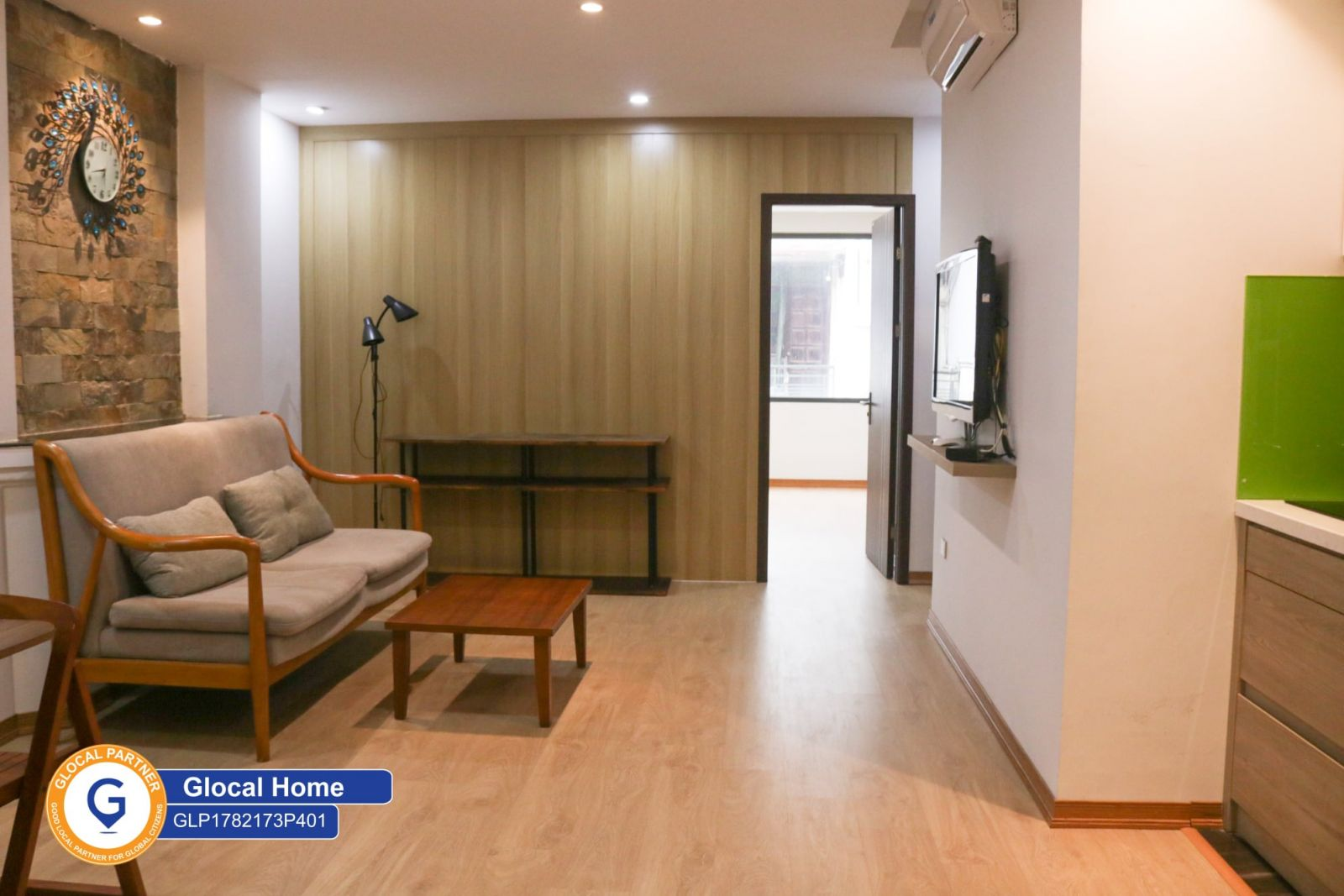 One bed room with large terrace and nice view in Nguyen Khac Hieu Street