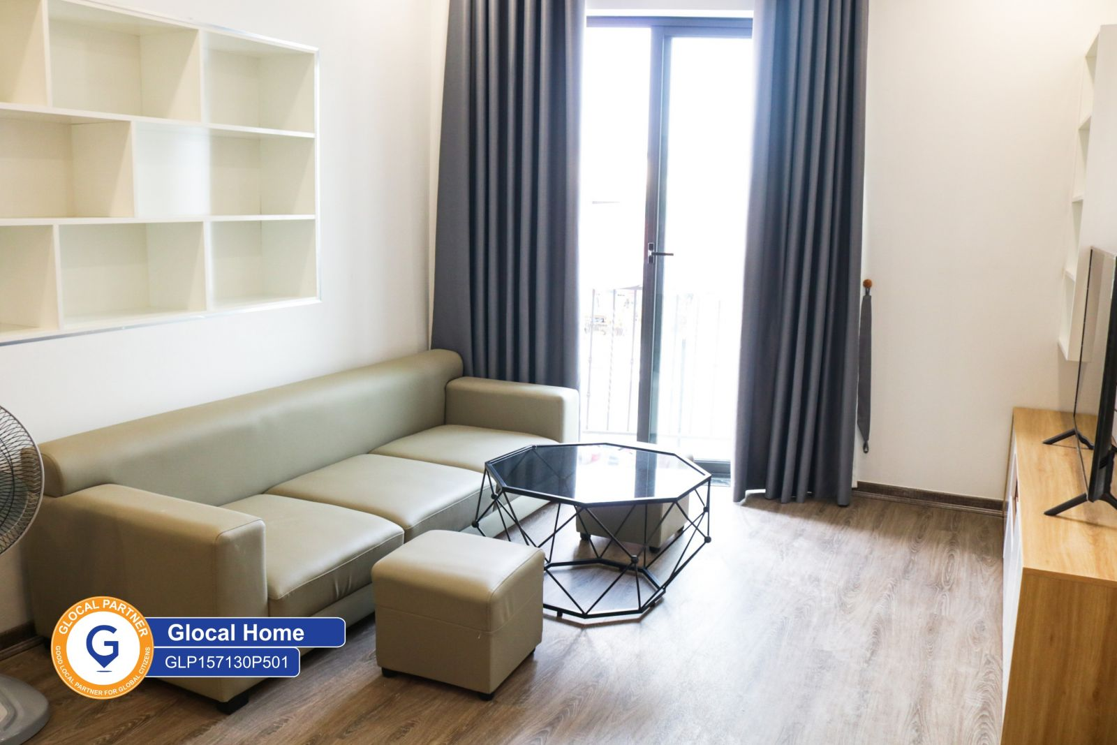 New fully furnished 1 bedroom apartment in Trinh Cong Son