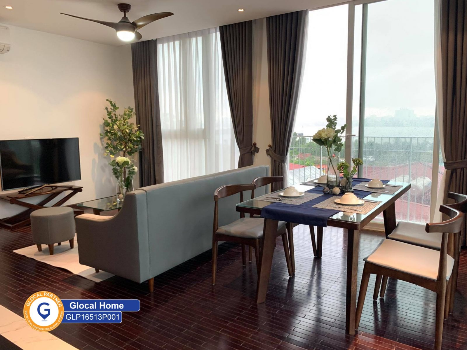 New 1 bedroom apartment with fully furnished in Au Co