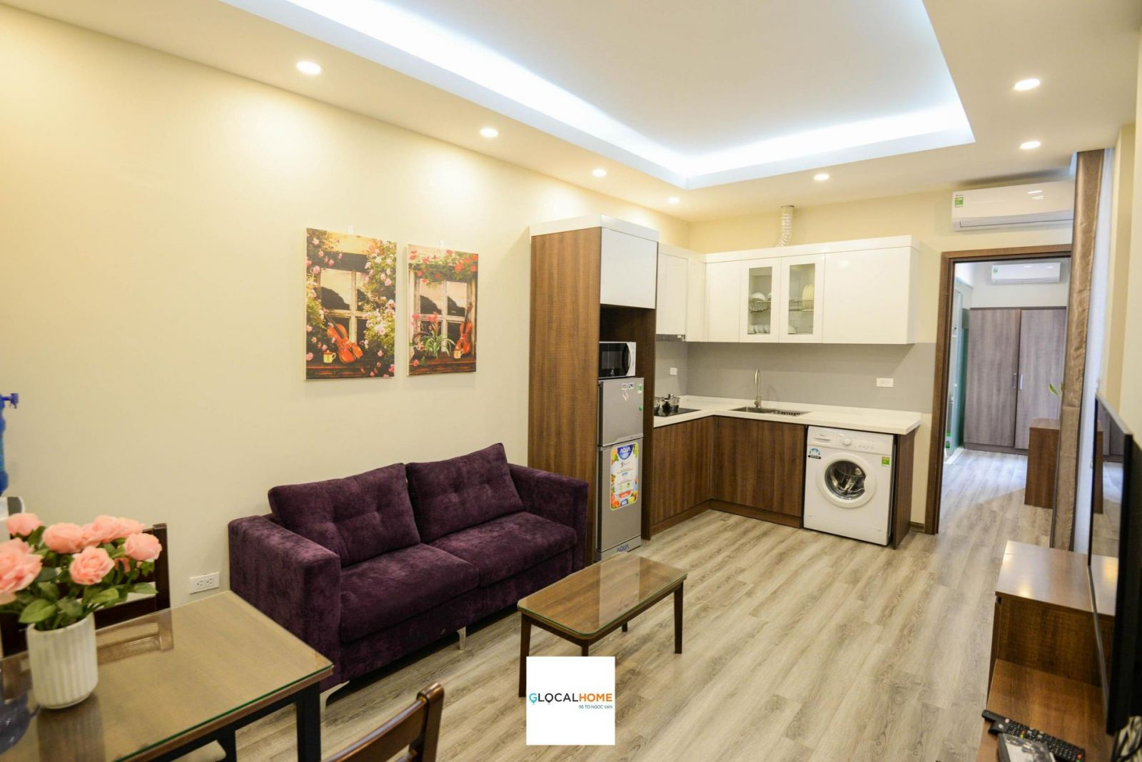 1 bedroom apartment with modern design, full facilities in Nhat Chieu
