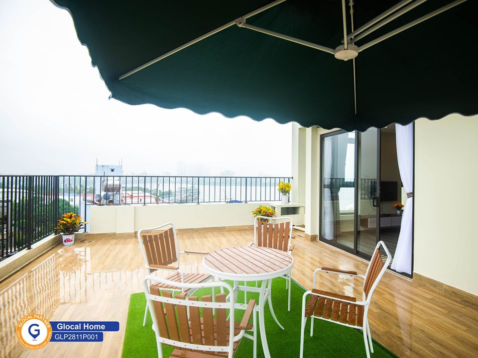 1 bedroom apartment with large balcony, lots of natural light in Nhat Chieu